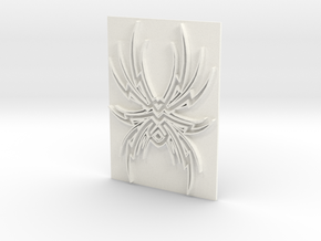 Spider1 in White Strong & Flexible Polished