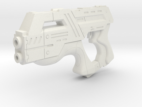 Mass Effect 1:6 M-6 Carnifex Heavy Pistol in White Strong & Flexible
