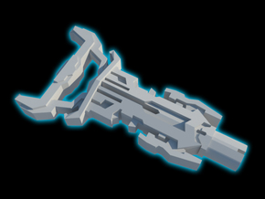 TFP - The Omega Key (4 Keys) in White Strong & Flexible