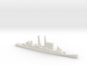Albany-Class Cruiser, 1/1800 in White Strong & Flexible