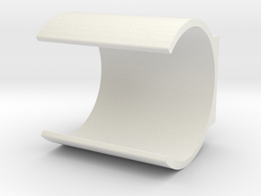 LRP Nosram Capacitor Holder in White Strong & Flexible
