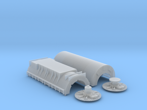 N Scale Westinghouse Turbo Generator in Frosted Ultra Detail