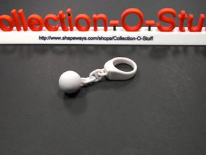 Flail Ring - Sphere - (Various Sizes) in Sandstone