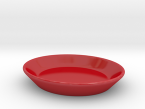 DDC -EspressoSet Untertasse in Gloss Red Porcelain