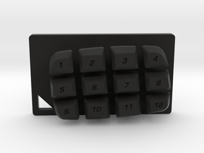 Nyth Standard Buttons in Black Strong & Flexible