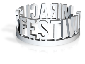 DRAW Festivus - Festivus Miracles ring in White Strong & Flexible