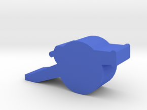 Game Piece, Field Cannon in Blue Strong & Flexible Polished