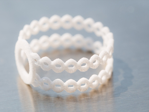 Ring of rings in White Strong & Flexible
