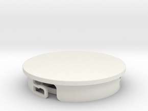 Hobbyist Base (pt 2/2) Suitable for custom Amiibo in White Strong & Flexible