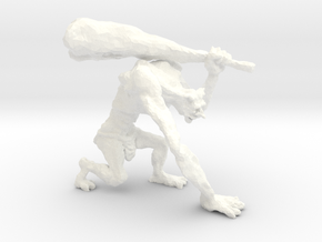 Troll in White Strong & Flexible Polished
