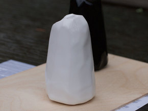 Neolithic Salt in Gloss White Porcelain