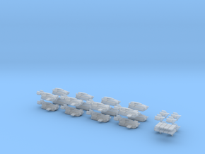 Monoplane Infantry Landing Contraption Battalion in Frosted Ultra Detail