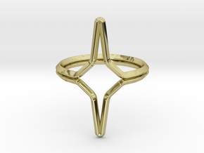 YOUNICA YY.01, ring d=16,5mm(all sizes on demand) in 18k Gold Plated