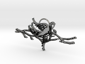 Branching Out in Polished Silver