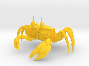 Ghost Crab in Yellow Strong & Flexible Polished