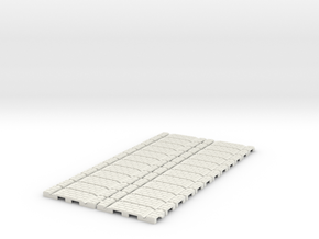 P-32st-flexi-straight-x24-100-1a in White Strong & Flexible