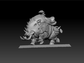 War Boar 35mm in White Strong & Flexible