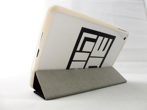 iPad Mini Bumper in White Strong & Flexible