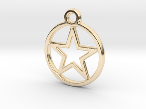 STARNCIRCLE in 14k Gold Plated