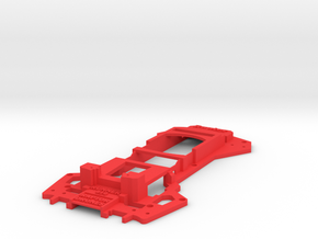 Walkera Runner 250 - Raptor 'News Van' Upper Tray in Red Strong & Flexible Polished