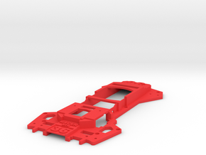 Walkera Runner 250 - Raptor 'Racing' Upper Tray in Red Strong & Flexible Polished