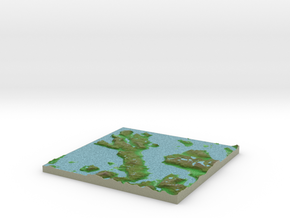 Terrafab generated model Thu Oct 15 2015 15:19:53  in Full Color Sandstone