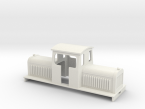 Loco Centercab 4l in White Strong & Flexible