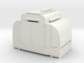 A-1-101-armoured-simplex1 in White Strong & Flexible