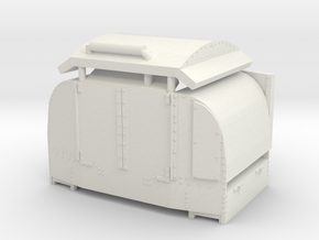 A-1-101-protected-simplex-doors-open-1 in White Strong & Flexible