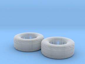 1/32 Scale Pair Of 275 60 15 MT Slicks in Frosted Ultra Detail