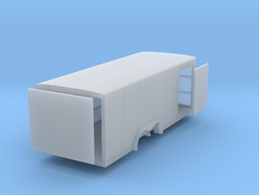 N 20ft Enclosed Trailer in Frosted Ultra Detail