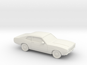1/87 1970-77 Ford Maverick in White Strong & Flexible