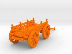 4-wheel �art 28mm in Orange Strong & Flexible Polished