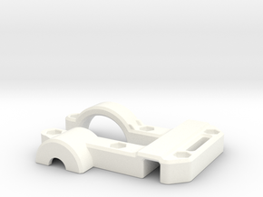 OD Fundus  - Clip Body in White Strong & Flexible Polished