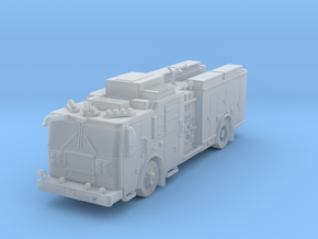 N Scale FDNY MII Squad in Frosted Extreme Detail