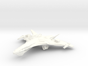 Ramval Class WarBird in White Strong & Flexible Polished