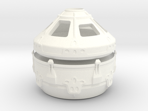 1/144 NASA/JPL MAV CONVERTIBLE CAPSULE in White Strong & Flexible Polished