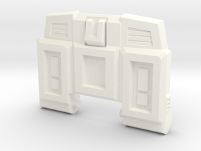 Pessimist Roadwarrior's G1 Chest Plate in White Strong & Flexible Polished