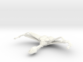 Hunter Class Bird Of Prey  Wings Up in White Strong & Flexible Polished