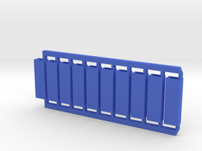 10 blue-axis bobs in Blue Strong & Flexible Polished