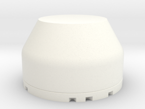 Dome in White Strong & Flexible Polished