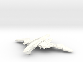 WingSerpent Class War Bird      WINGS IN CHANGE in White Strong & Flexible Polished
