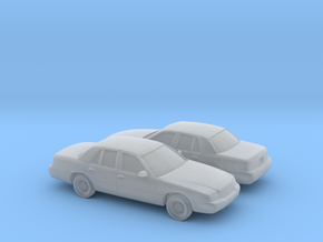 1/160 2X 1997-02 Mercury Grand Marquis in Frosted Ultra Detail