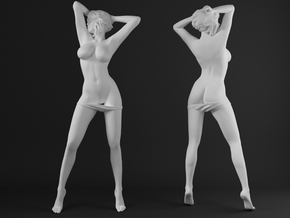 Panties girl 006 scale 1/20 Passed in White Strong & Flexible Polished