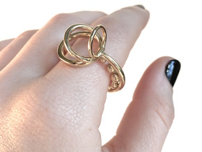 Series 1: Ring 1 in Polished Brass