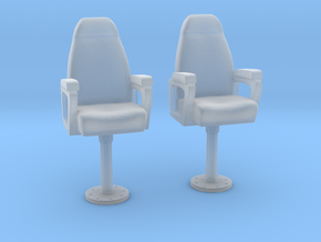 1/96 US Navy Capt Chair Set 2 Units in Frosted Ultra Detail