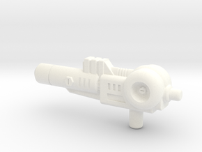 Kick-off Gun in White Strong & Flexible Polished