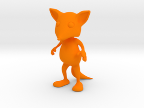 Tiny Fox in Orange Strong & Flexible Polished