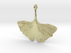 Ginkgo Necklaces in 18k Gold Plated