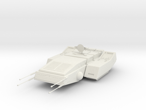 Federation Type FT-7 Freighter - 37mm in White Strong & Flexible